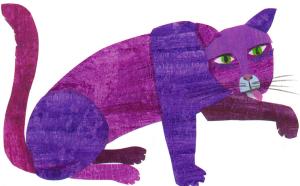 Purrple cat