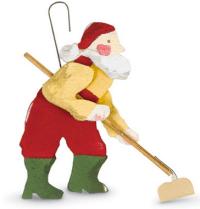 Santa hoeing